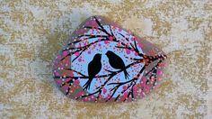VENTA PINTADA PLAYA piedra / piedra arte / punto por NatureParadise
