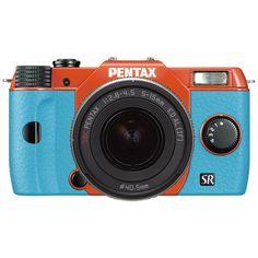 Q10 Zoom Lens Kit Orange/Aqua 021 | Pentax Webstore