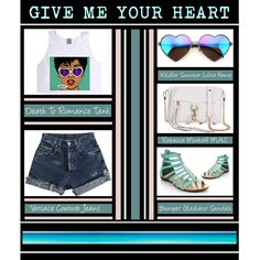 """""""Give Me Your Heart"""" by latoyacl on Polyvore"""