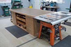 Outfeed Table - by WoodScrap @ LumberJocks.com ~ woodworking community