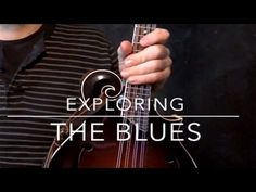 Simple Mandolin blues in D. - YouTube