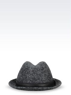 1498c2ef9da Giorgio Armani Classic Wool Hat on shopstyle.com