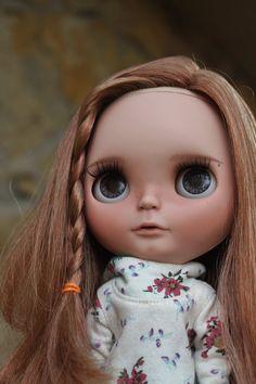 OOAK custom Takara Blythe doll Cara by outonalimb1 on Etsy