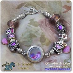 Timeline Treasures Floating Locket Charm Bracelets For Women, Stainless Steel, Fits Pandora, Inch (For Demonstration Purposes Only. Beads not included. Beaded Jewelry, Jewelry Bracelets, Silver Jewelry, Chakras, Locket Charms, Lockets, Jewelry Crafts, Jewelry Ideas, Custom Jewelry
