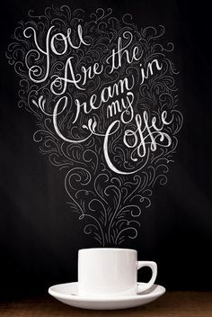 Who is the cream in your coffee? #MrCoffee #Love