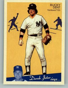 2008 Upper Deck Goudey 128 Bucky Dent - New York Yankees (Baseball Cards) -- Click image to review more details.