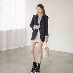 #envylook Single-Breasted Tailored Jacket #koreanfashion #koreanstyle #kfashion #kstyle #stylish #fashionista #fashioninspo #fashioninspiration #inspirations #ootd #streetfashion #streetstyle #fashion #trend #style