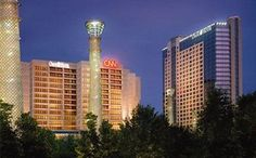 View deals for Omni Atlanta Hotel at CNN Center. Guests praise the central location. Centennial Olympic Park is minutes away. This hotel offers 2 restaurants, a gym, and a bar. Centennial Olympic Park, Atlanta Hotels, Dog Friendly Hotels, Georgia Aquarium, World Of Coca Cola, Piedmont Park, Top Hotels, Travel Deals, Travel Tips