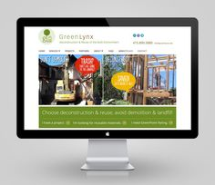 greenlynx website design by DK Design Studio