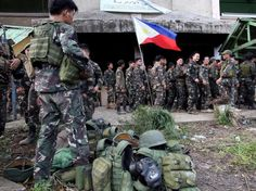 The Philippines military defeated ISIS fighters who were trying to establish a base in Southeast Asia