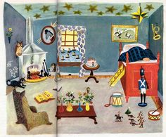 "This might be one of the places my ""triggers"" take me. Wonderful Story Book, Illustrations by J.P. Miller, 1948- Room ""Margaret Wise Brown's Wonderful Story Book"", A Big Golden Book, 1948 Stories by Margaret Wise Brown"