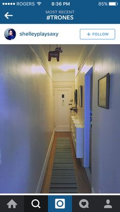 Hallway inspo