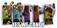 YES WE CANDY @UNREAL #candy #UNJUNKED