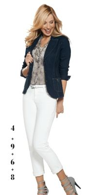 Outfit from the Jockey Person-to-Person Spring 2013 collection.  The most comfortable jeans ever!
