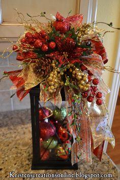 Christmas decorative lantern