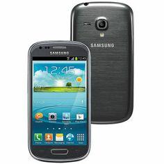 Celular Smartphone Desbloqueado Samsung Galaxy SIII Mini I8190 Grafite - Android 4.1, Dual Core 1Ghz, Câmera 5MP, 3G, WiFi, Bluetooth e GPS