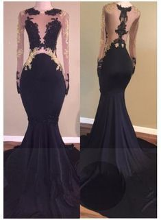 Sexy Mermaid Lace Zipper Black Long-Sleeve Prom Dress#prom #fashion #mermaid #dress #dressbarn #promdress #okdressesy #style #love #elegant #promgown #promdresses #style #events #evening #eveningwear #party #partyideas #rhinestones #gowns #bridesmaid #lace #lacedress