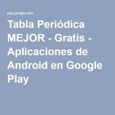 Quimitris aprende la tabla peridica de los elementos jugando al tabla peridica mejor gratis aplicaciones de android en google play urtaz Images