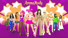 Lady Popular – Arena Mody – darmowa przeglądarkowa gra MMO dla kobiet