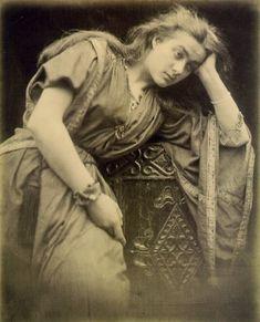 julia margaret cameron mariana | She looks exhausted