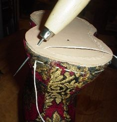 How to make cork chopines - Late 16th Century Venetian