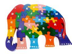World map wooden jigsaw puzzle amazon toys games also for children wooden jigsaw puzzle alphabetic abc elephant gumiabroncs Images