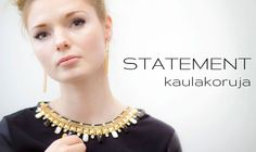 Take a look at this statement necklace! www.westyle.fi