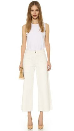 High-waisted Citizens of Humanity jeans in a cropped ec7191b9c