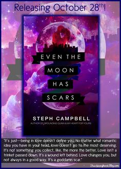 Even the Moon Has Scars by Steph Campbell Cover Reveal & Excerpt