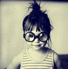This is what I hope my little girl looks like. :) Looks & acts just like 'er Momma. <3