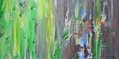 Journey I  - abstract painting on canvas, #FineArtSeen  #art  #paintings