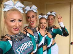 My fav cheer team 😍😍😍 Cheerleading Team Gifts, Cheerleading Photos, Cute Cheerleaders, Cheer Athletics, Cheer Coaches, Cheer Stunts, Cheer Dance, Cheer Picture Poses, Cheer Poses