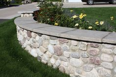 stone walls landscaping | Stone Walls