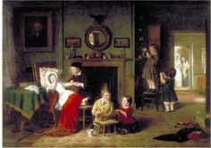 Children Playing at Doctors | Hardy, Frederick Daniel | V&A Search the Collections