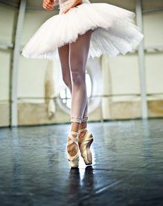 Une belle inconnue qui danse...