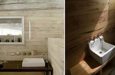 Camp-Style Bathrooms, Remodelista