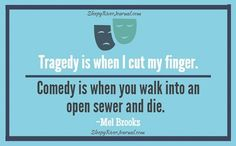 Have you ever wondered about the difference of Comedy vs. Tragedy