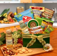 Sweet and savoury gluten free gift basket xl healthy gourmet healthy gourmet gift box negle Choice Image