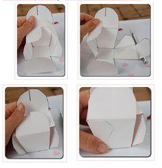 cajas para regalos con patrones - Buscar con Google