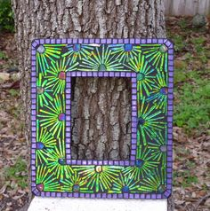 Mardi Gras Mirror by Elsieland Mosaics, via Flickr