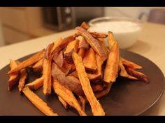 Süßkartoffeln - 10 gesunde Gründe - Rezept aus dem Ofen - YouTube