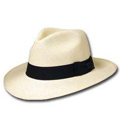 GATSBY FEDORA Panama Hat NATURAL STRAW