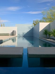 Home Design and Interior Design Gallery of Modern Landscape With Swimming Pool Winter Residence Remodel