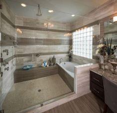 bathroom, master bathroom decor, bathroom some ideas, master bathroom renovation, bathroom decor som. Bad Inspiration, Bathroom Inspiration, Bathroom Ideas, Bathtub Ideas, Shower Ideas, Bathroom Designs, Big Bathtub, Jacuzzi Tub, Bathroom Organization