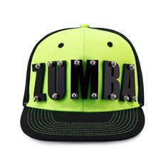 You'll look pretty cool HEAD-in to class in the all-new Zumba Acrylic Snapback Hat. Shake it off and snap it back!