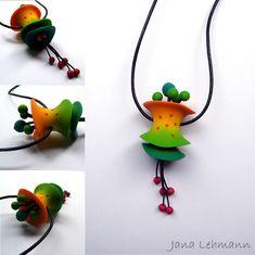 Mad Hat Pendant II by Jana Lehmann