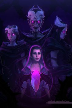 Dreamfall Chapters - zoe and baba yaga. Awesome artwork