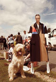 Cara Delevingne for Vogue UK November 2012  photography: Glen Luchford   |   fashion editor: Jane How