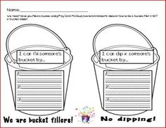 Several free bucket-filler items at the bottom of the page!