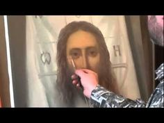 """FREE! Full video """"Portrait of Jesus"""" painter Igor Sakharov"""